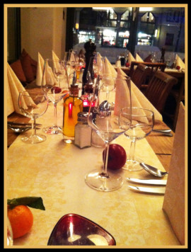 Feiern Catering Buffet a la carte München italienisch asiatisch